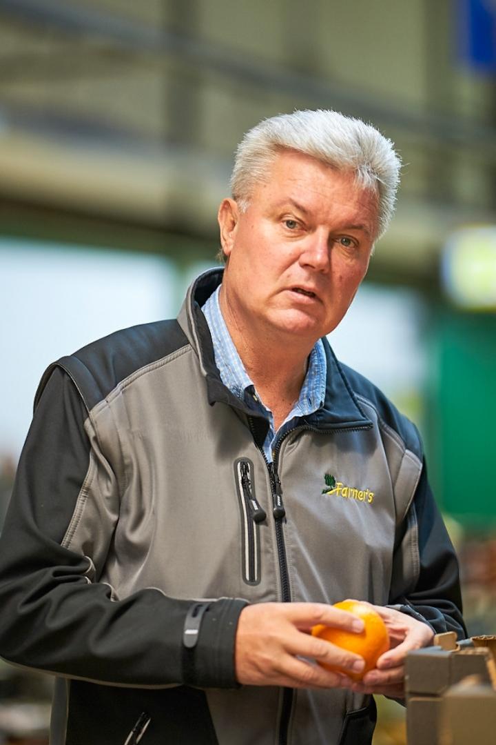 Martin Farner im Zürcher Engrosmarkt