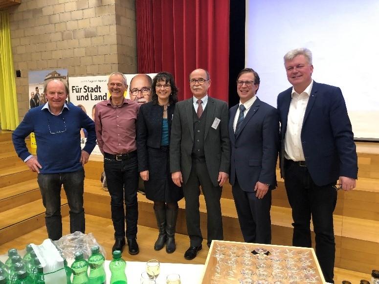 Podiumsdiskussion mit Kantonsratskandidaten
